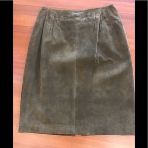 Maxima Suede Skirt